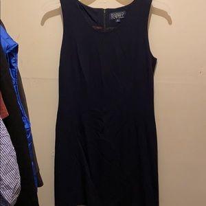 Harold Powell Navy Blue Mini Dress